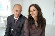 Stephen Finfer and Kara Dioguardi