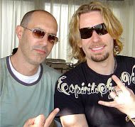 Stephen Finfer and Kroeger of Nickelback